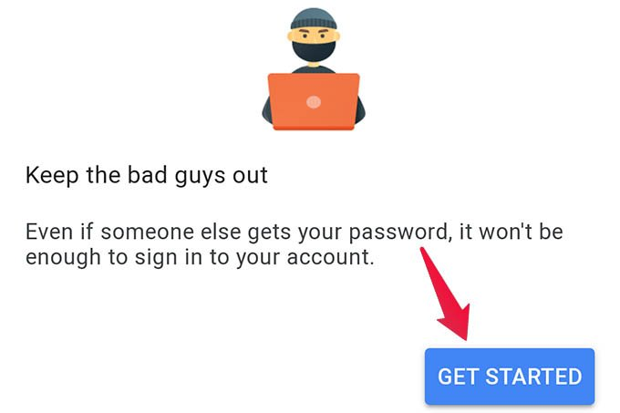 Get Started with Google 2 Step Verification