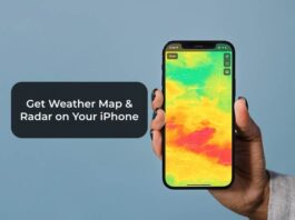 Get Weather Map / Radar on Your iPhone