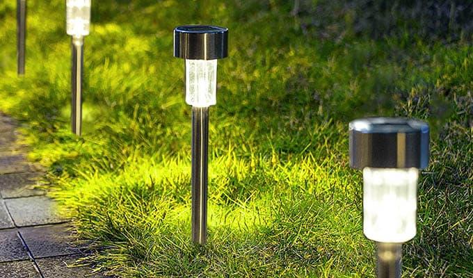 Gigalumi Solar Outdoor Lights