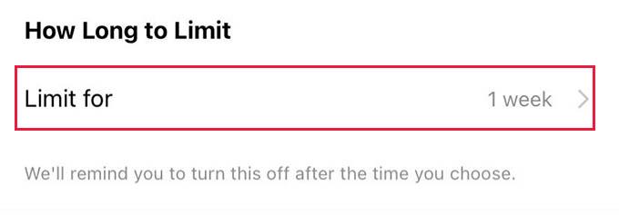 Instagram Comment Limits Time Limit
