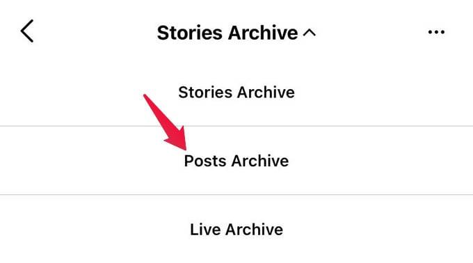 Instagram Posts Archive
