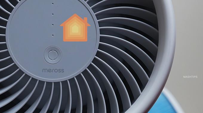 Meross-Air-Purifier-Control-panel