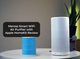 Meross Smart WiFi Air Purifier with Apple HomeKit Review