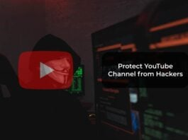 Protect YouTube Channel from Hackers