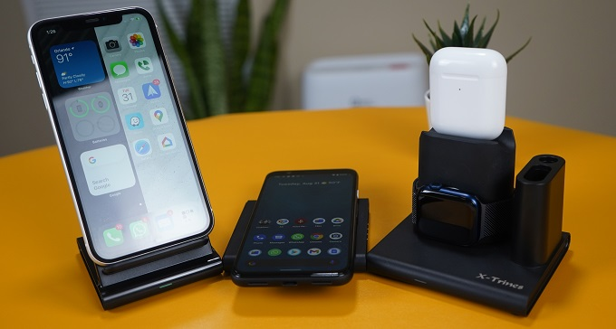 Quezqa 4 in 1 Wireless Charging Station individual blocks