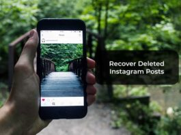 Recover Deleted Instagram Posts
