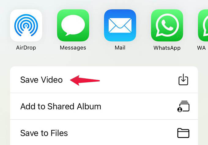 Save Video Memory on iPhone