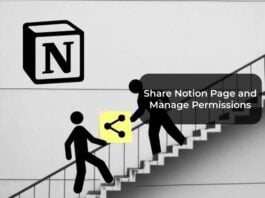 Share Notion Page and Manage Permissions