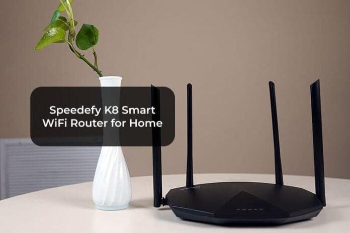 Speedefy K8 Smart WiFi Router for Home