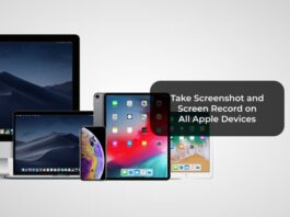 Take Screenshot and Screen Record on All Apple Devices