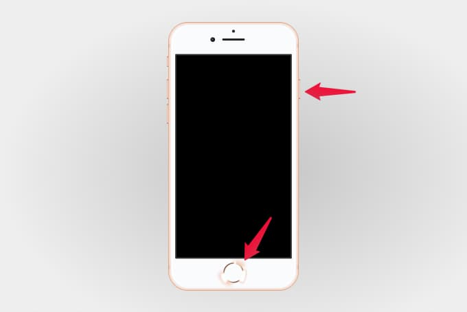 Take Screenshot on iPhone With Home Button