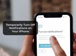 Temporarily Turn Off Notifications on Your iPhone