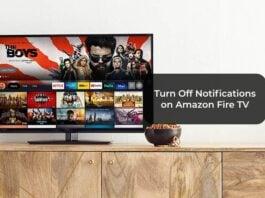 Turn Off Notifications on Amazon Fire TV