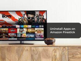 Uninstall Apps on Amazon Firestick