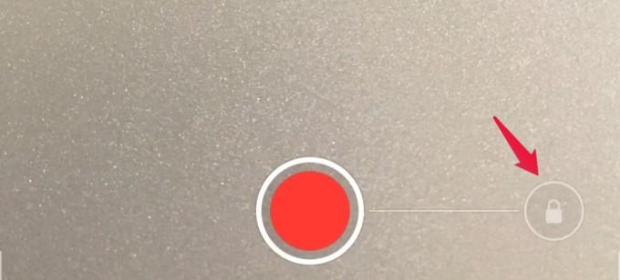 camera app recording mode
