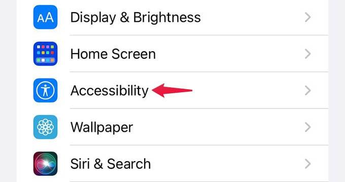 iPhone Accessibility SettingsiPhone Accessibility Settings