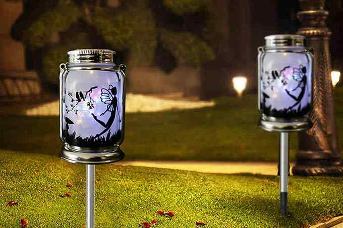 ANGMLN Solar Fairy Lantern Decor Light