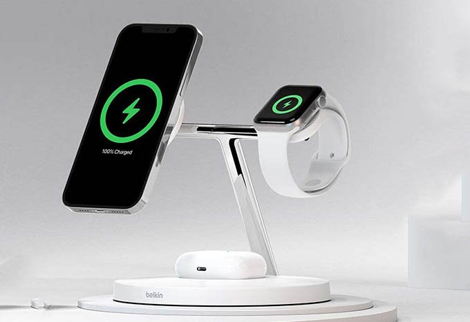 Belkin MagSafe 3-in-1 Wireless Charger