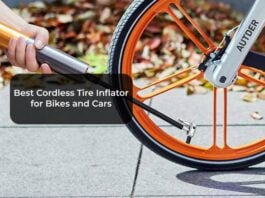 Best Cordless Tire Inflator for Bikes and Cars
