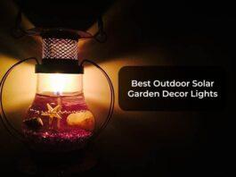Best Outdoor Solar Garden Decor Lights