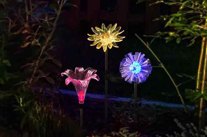 Bright Zeal Solar Garden Light Decor Light