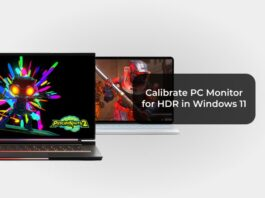 Calibrate PC Monitor for HDR in Windows 11
