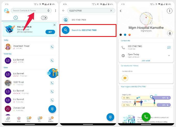 CallApp Reverse phone number lookup