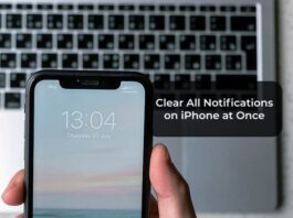 Clear All Notifications on iPhone at Once