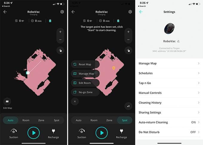Eufy RoboVac App