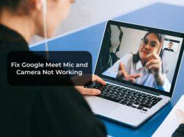 Fix Google Meet Mic and Camera Not Working