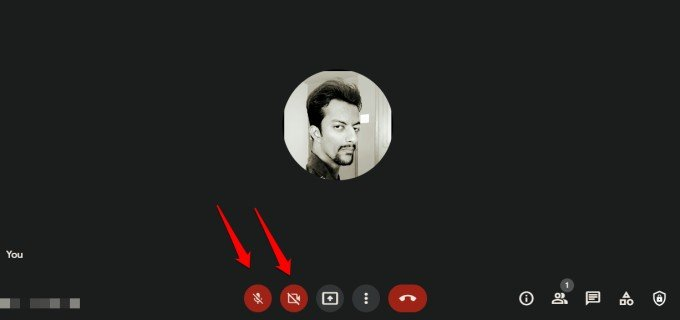enable microphone and camera option in google meet