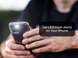 Get LED Flash Alerts on Your iPhone