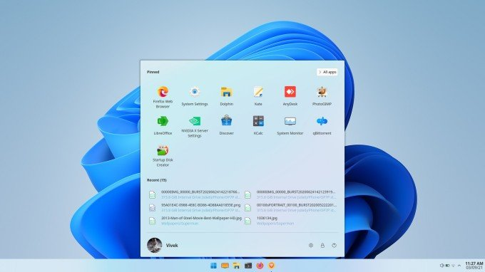 Make Linux look like Windows 11 with Windows 11 Taskbar and Star Menu