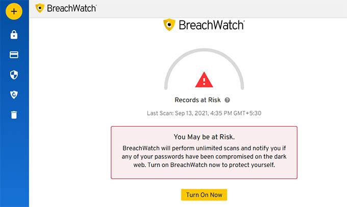 Keeper BreachWatch