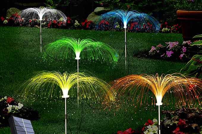 LiyuanQ Solar Garden Decor Lights