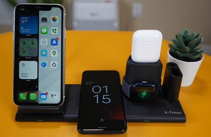 Quezqa 5 in 1 Wireless Charging Station
