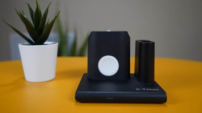 Quezqa 4 in 1 Wireless Charging Station Watch charger