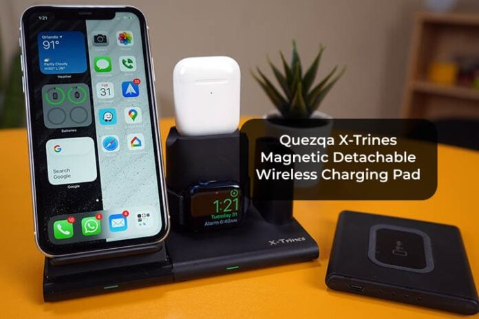 Quezqa X-Trines Magnetic Detachable Wireless Charging Pad