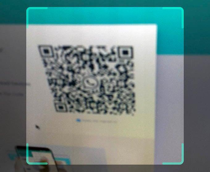 Scan WhatsApp Web QR Code