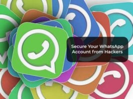 Secure Your WhatsApp Account from Hackers