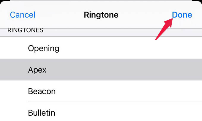 Set Custom Ringtone for Contacts on iPhone