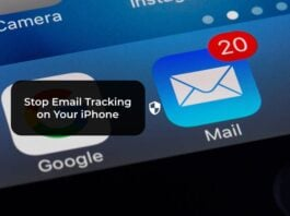 Stop Email Tracking on Your iPhone