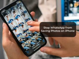 Stop WhatsApp from Saving Photos on iPhone