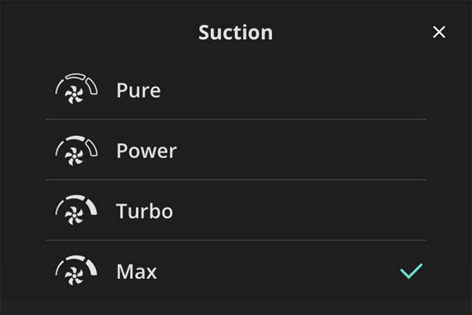 Suction Power in Eufy RoboVac X8