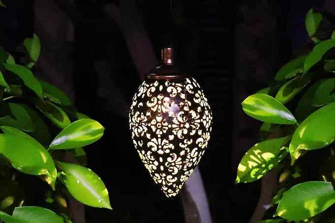 Tomshine Hanging Solar Decor Lantern