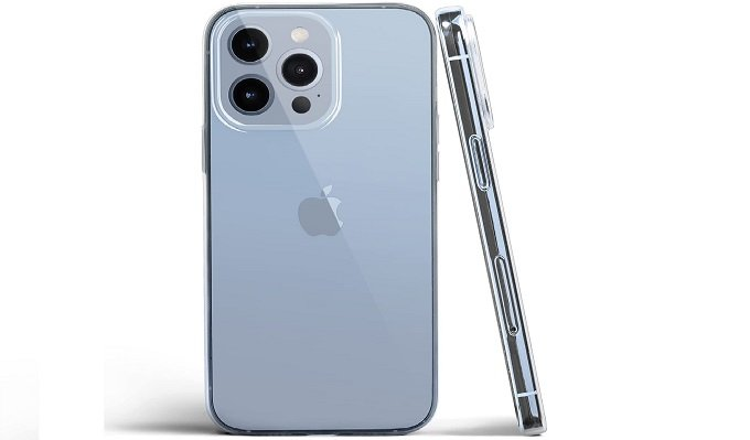 Totallee Clear Case for iPhone 13 Pro Max