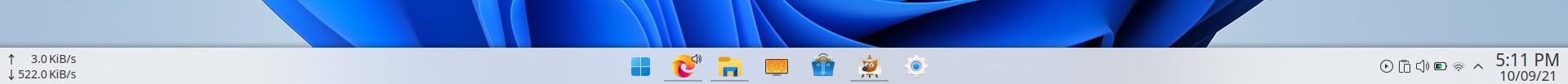 KDE Windows 11 Taskbar layout