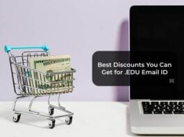 Best Discounts You Can Get for EDU Email ID