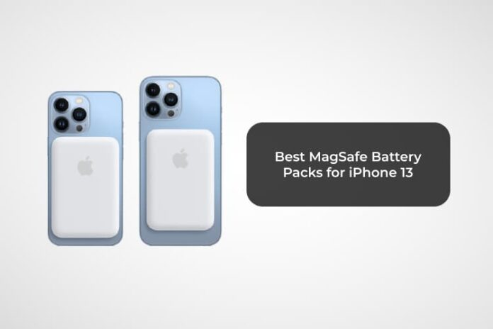 Best MagSafe Battery Packs for iPhone 13