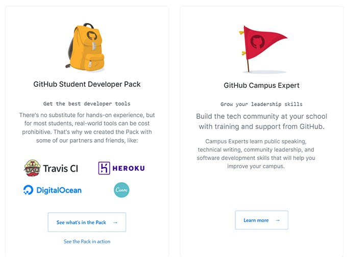 Get Github Student Developer Pack for Free
